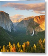 Inspiration Point Yosemite Metal Print by Buck Forester