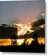 Inspiration Sunset Metal Print