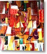 Inspired By Picasso Metal Print