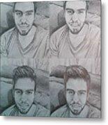 Instagram Portrait Metal Print