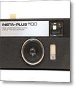 Instamatic Camera Metal Print