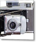 Instant Vintage Polaroid Camera Metal Print