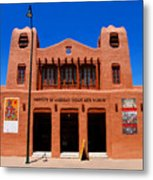 Institute Of American Indian Arts Museum Metal Print
