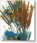 Intensive Abstract Expressionism Series 64.102511 Metal Print
