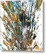 Intensive Abstract Painting 519.112011 Metal Print