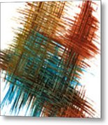 Intensive Abstract Painting 710.102610 Metal Print