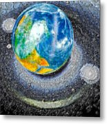 Interactive Space 2 Metal Print