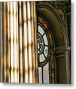 Interior Architecture Versailles Chateau France  Metal Print