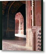Interior Of Guest House India Metal Print