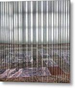 Interior Wall World Financial Center Metal Print