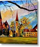 Interlaken Switzerland Metal Print