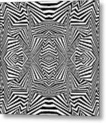 Interlinking Everything Metal Print