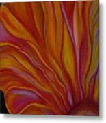 Internal Floral Metal Print