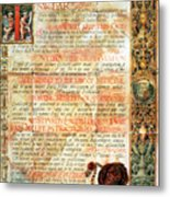 International Code Of Medical Ethics Metal Print by Science Source