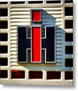 International Harvester Logo Metal Print