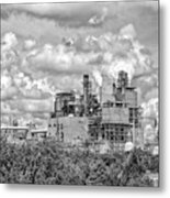 International Paper Company Metal Print