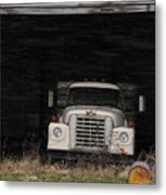 International Truck Metal Print