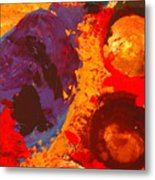 Interplanetary Encounter Metal Print