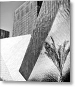 Intersection 1 Bw Las Vegas Metal Print