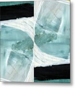 Intersection 37 Part 2- Art By Linda Woods Metal Print