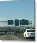 Interstate 70 West At Exit 234, Route 180 West Exit, 1999 Metal Print