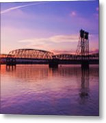 Interstate Bridge Metal Print