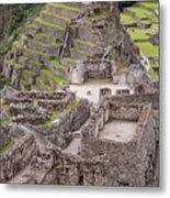 Intihuatana Pyramid Metal Print