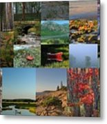 Intimate New England Landscape Photography Metal Print