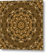 Into A Golden Basket Metal Print