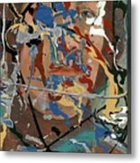 Into Abstraction Metal Print