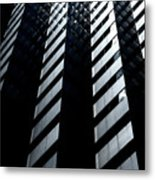 Into Light Metal Print