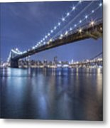 Into The Arms Of The Night Metal Print