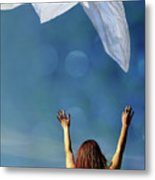 Into The Atmosphere Metal Print