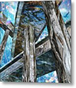 Into The Blue Again Metal Print