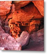 Into The Cave Metal Print