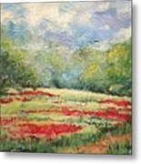 Into The Clover Metal Print