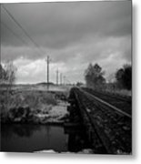 Into The Distance 2 Metal Print by Matthew Angelo