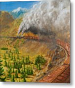 Into The Front Range Metal Print