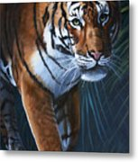 Into The Glade Metal Print