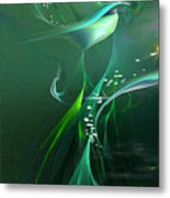 Into The Green...and Beyond... Metal Print
