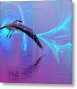 Into The Lagoon Metal Print