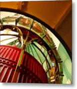 Into The Lighthouse Metal Print