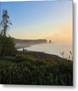 Into The Mist-ick Metal Print