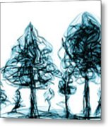 Into The Mysterious Forest Of Imagination Metal Print