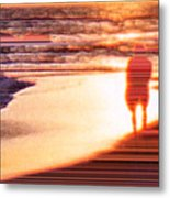 Into the Sunset 6 Metal Print