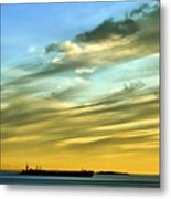 Into The Sunset Metal Print