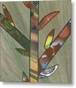 Into The Tall Grass Metal Print