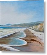 Into The Wind.... Metal Print