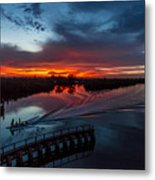 Intracoastal Sunset Metal Print
