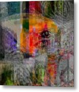Intuitional Abstract Metal Print